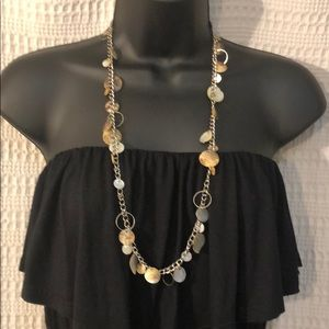 Jewelry - Shell Circle Necklace